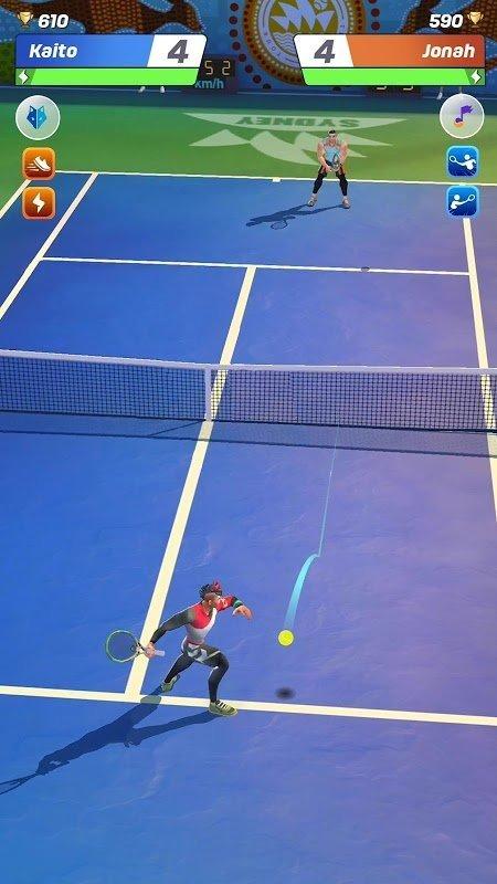 tennis clash moddroid 4