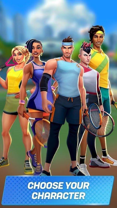 tennis clash moddroid 5