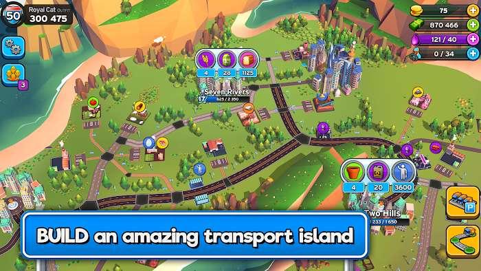 transit king tycoon – transport empire builder mod money moddroid 1