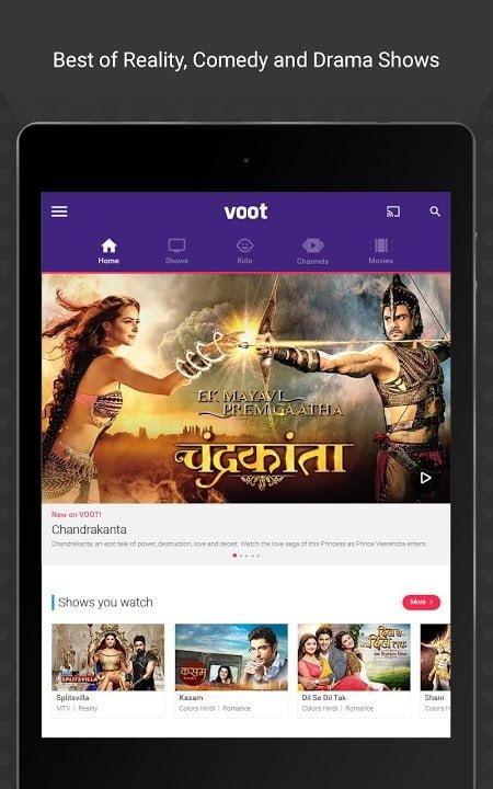 voot tv shows movies cartoons mod ad freelite moddroid 1
