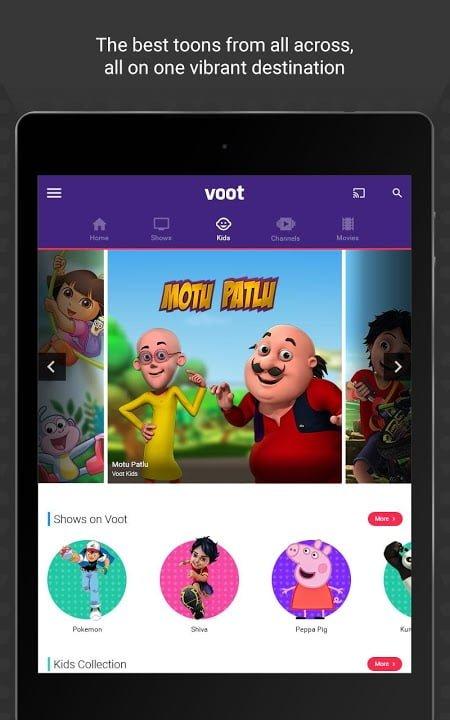 voot tv shows movies cartoons mod ad freelite moddroid 3