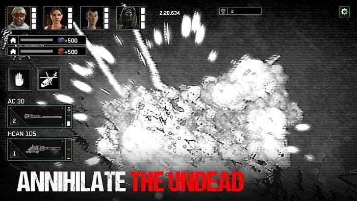 zombie gunship survival mod ammoone hit moddroid 2