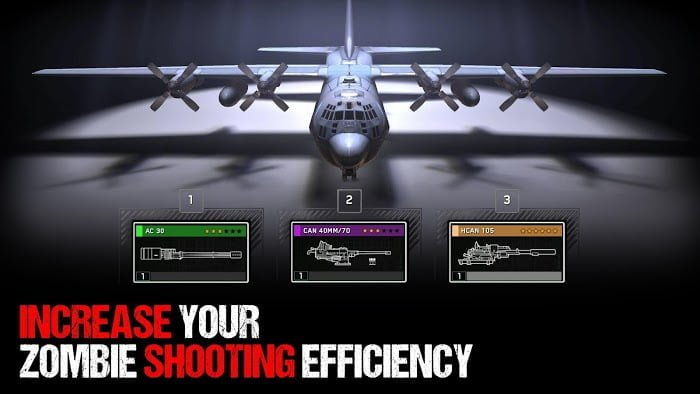 zombie gunship survival mod ammoone hit moddroid
