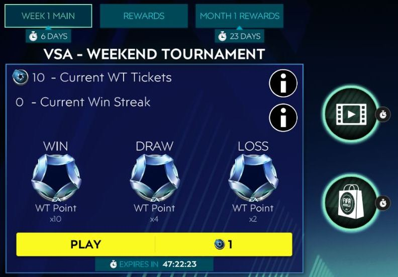 1596214813 564 FIFA Mobile 20 Weekend Tournament Guide