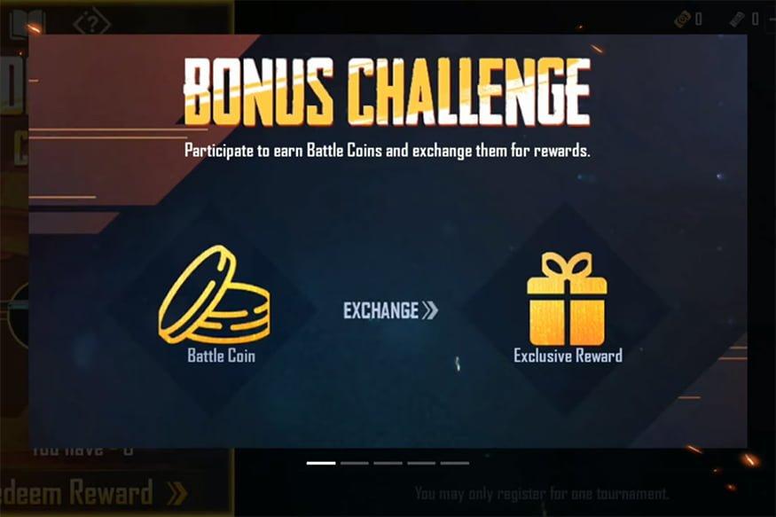 Thử thách tiền thưởng trên di động PUBG