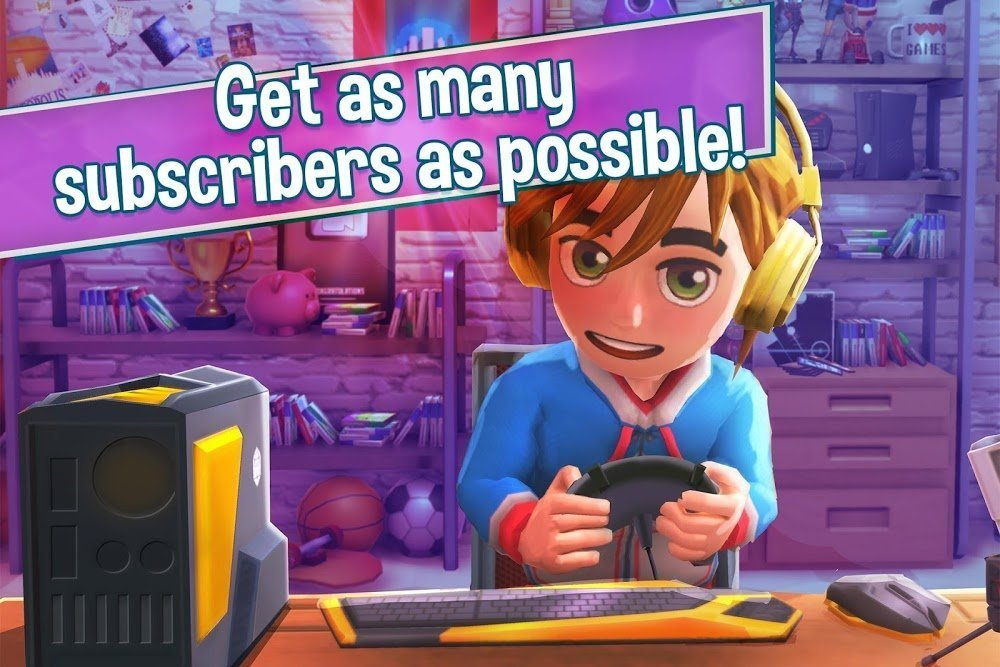 1597429806 354 Youtubers Life Gaming Channel MOD Free Mua sam