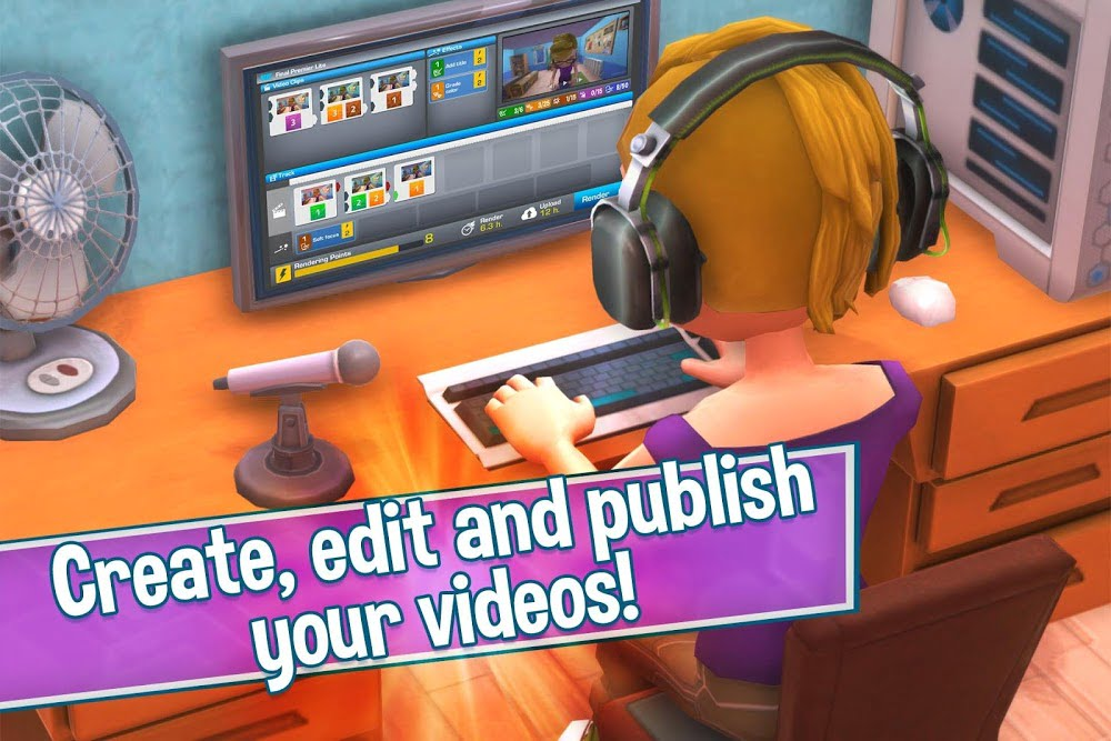 1597429806 571 Youtubers Life Gaming Channel MOD Free Mua sam