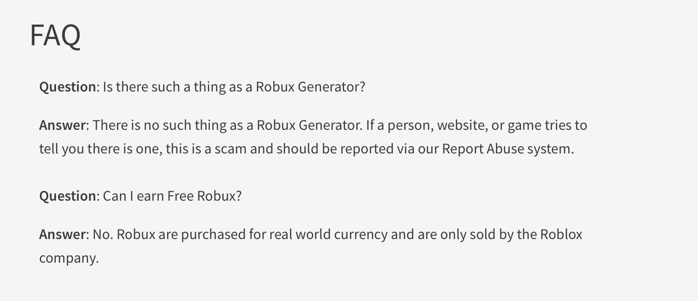 Trình tạo Robux miễn phí Không có khảo sát không hoạt động