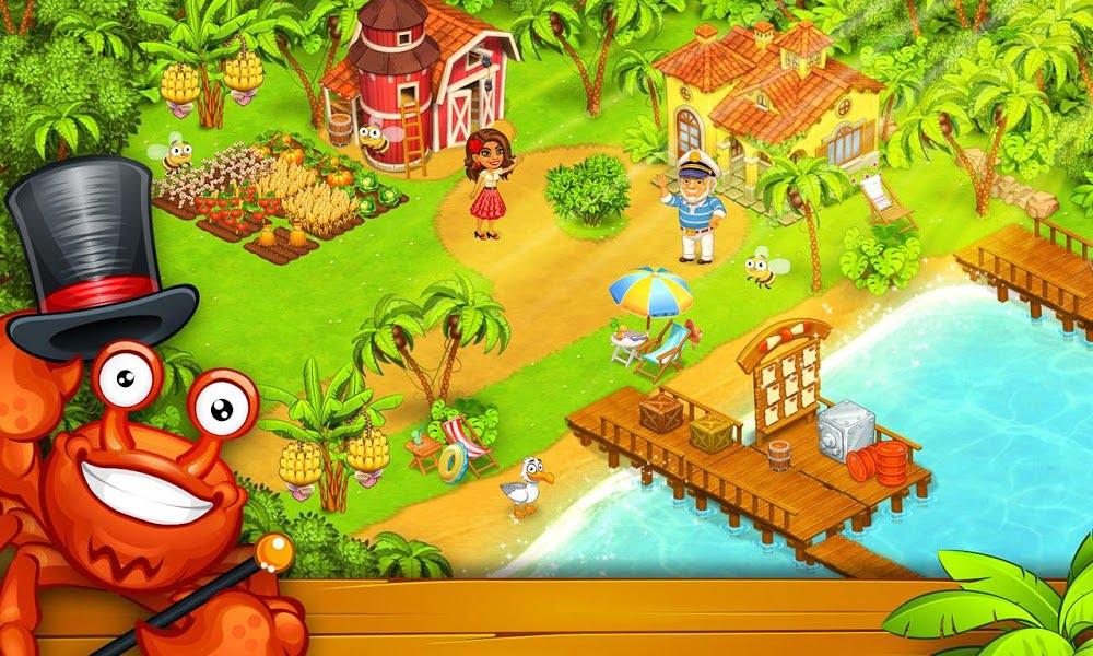1598017804 914 Farm Island Hay Bay City Paradise MOD Vo han