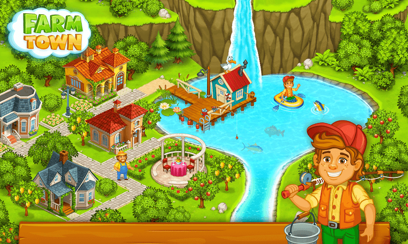 1598712604 587 Farm Town Happy Farming Day MOD APK IOS