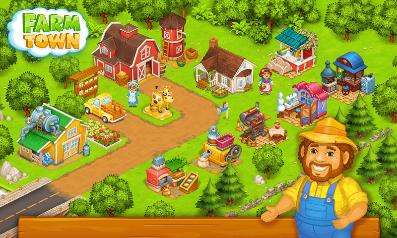1598712604 755 Farm Town Happy Farming Day MOD APK IOS