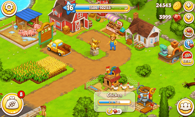 1598712605 103 Farm Town Happy Farming Day MOD APK IOS