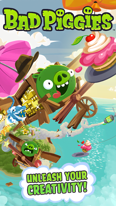 Bad Piggies MOD APK IOS
