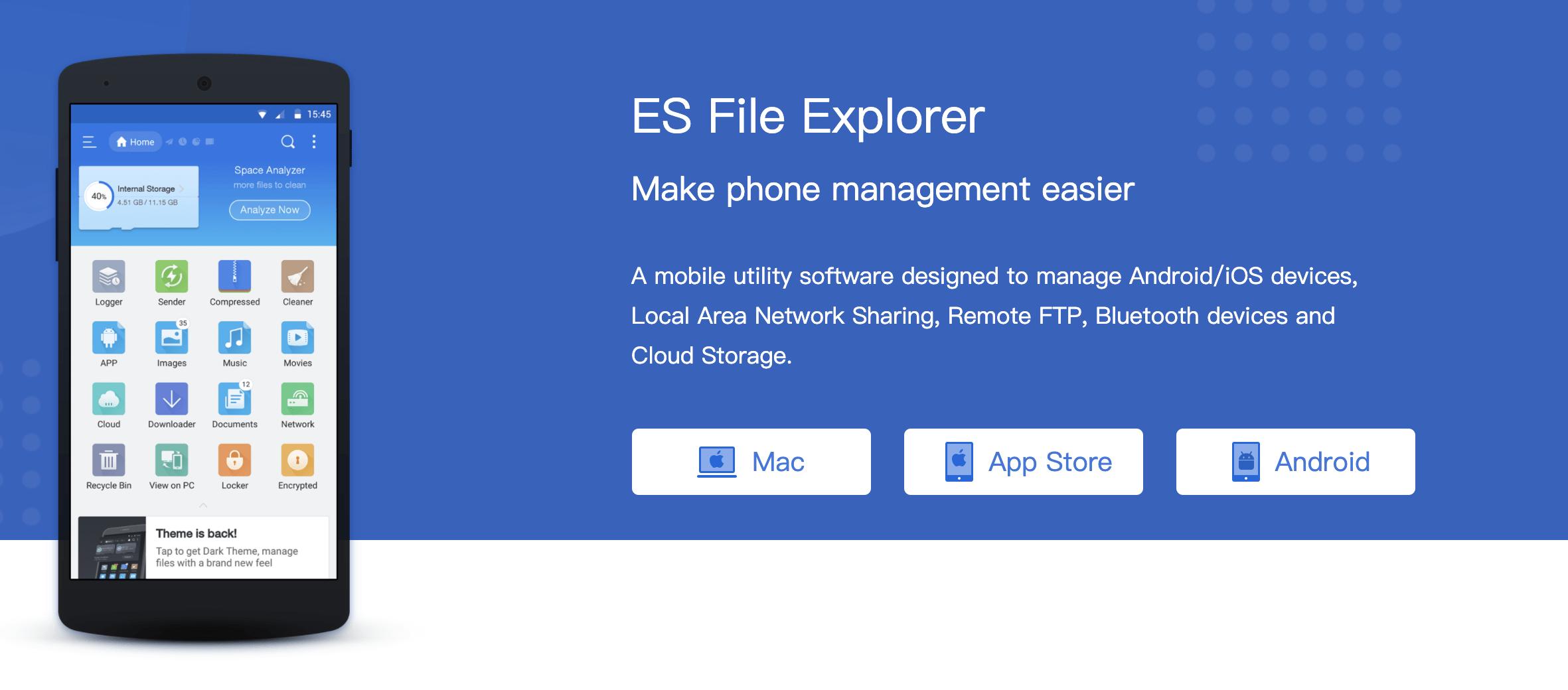 ES File Explorer MOD Premium