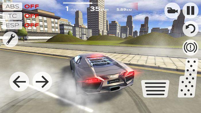 Extreme Car Driving Simulator MOD APK IOS