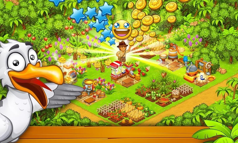 Farm Island Hay Bay City Paradise MOD Vo han