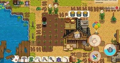 Thu hoạch Thị trấn Nông nghiệp