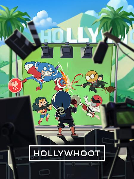 Hollywhoot Idle Hollywood Evolution Parody MOD APK IOS