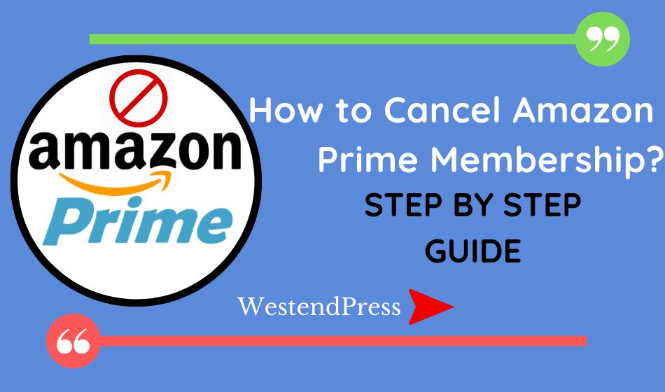 Làm cách nào để hủy tư cách thành viên Amazon Prime? hướng dẫn từng bước một