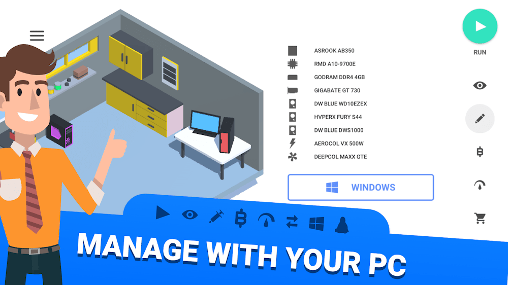 PC Creator – PC Building Simulator MOD Free Mua sam