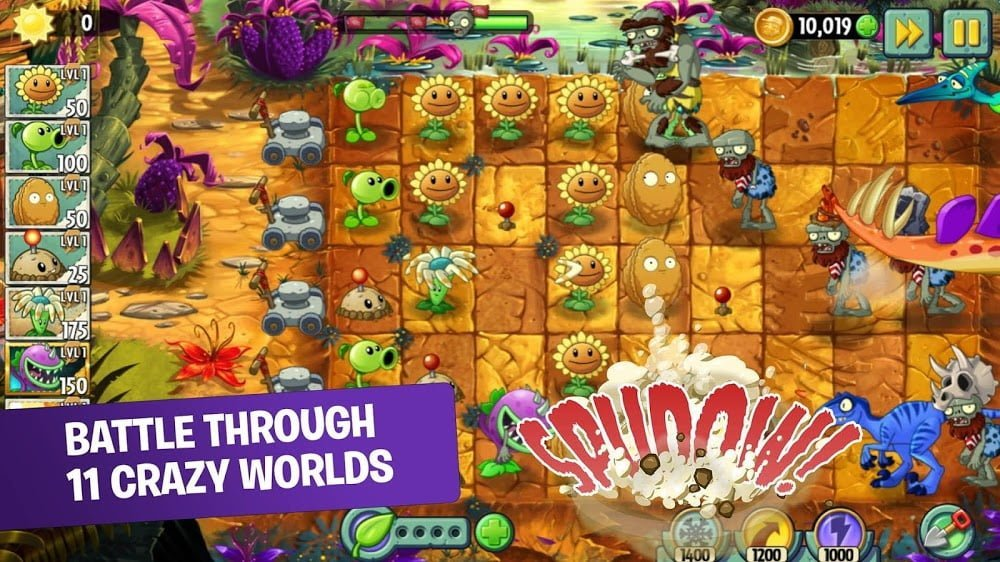 Plants vs Zombies 2 MOD APK IOS