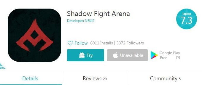 Tải xuống Shadow Fight Arena