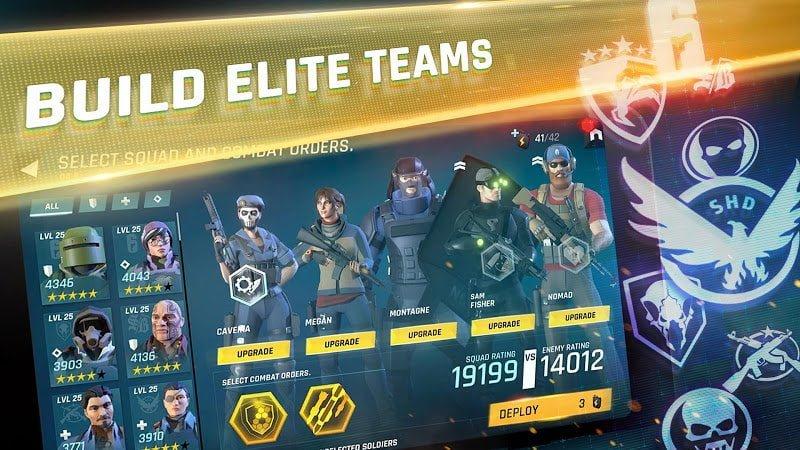 Tom Clancys Elite Squad MOD DamageAlways Win