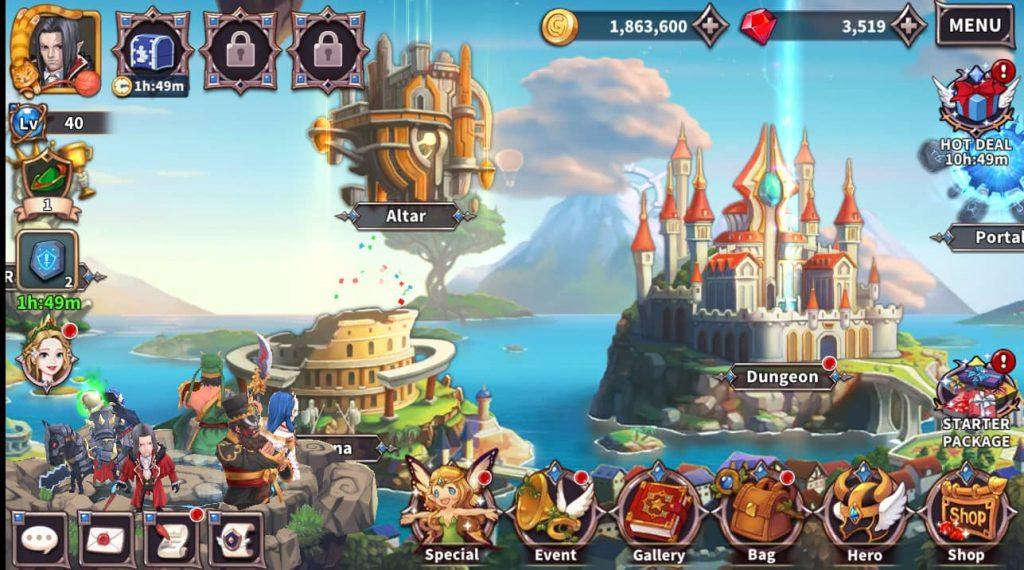 Với Hướng dẫn cho người mới bắt đầu của Heroes-IDLE RPG