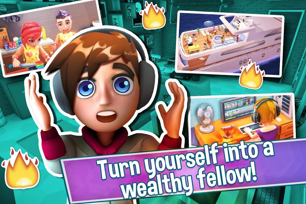 Youtubers Life Gaming Channel MOD Free Mua sam