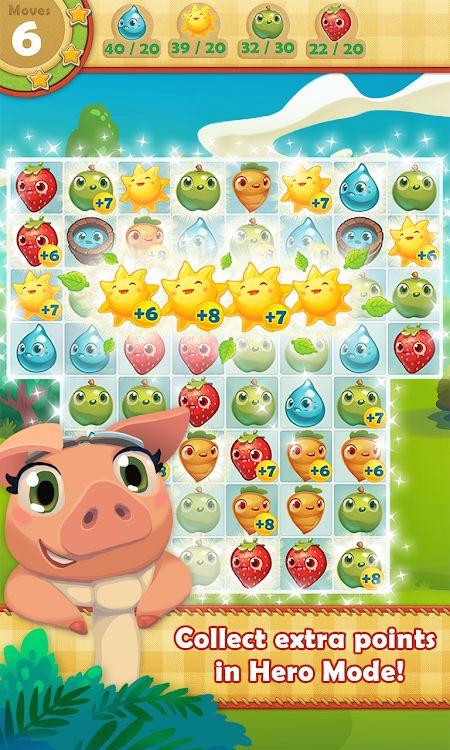 1598904604 767 Farm Heroes Saga MOD Vo han Lives