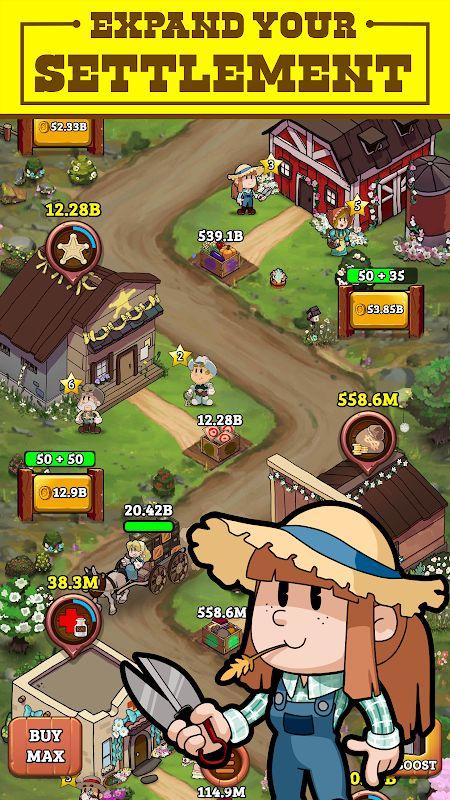 1598955605 744 Idle Frontier Tap Town Tycoon MOD Vo han Tien xu