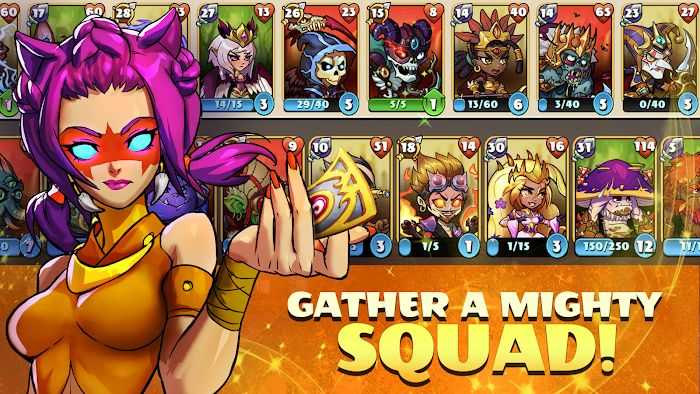1598996404 408 Mighty Party Legends of Battle Heroes MOD One HitGod Mode