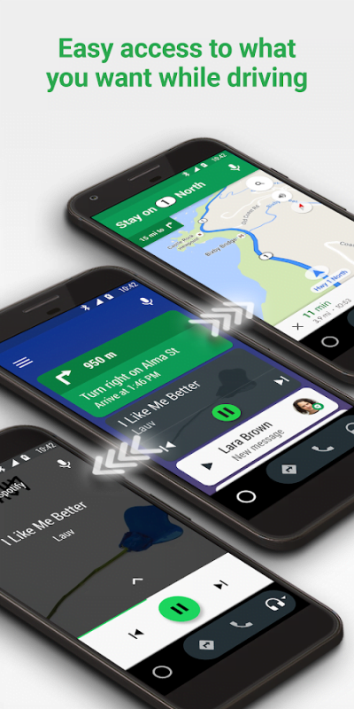 1599157807 424 Android Auto – Google Maps Media Messaging