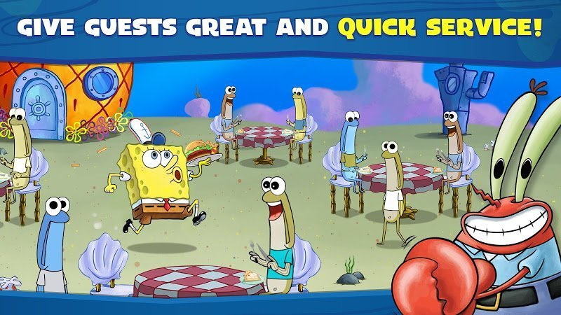 1599800104 273 SpongeBob Krusty Cook Off MOD APK IOSTien xu