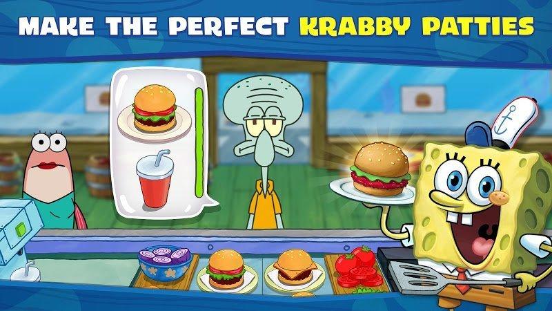 1599800104 93 SpongeBob Krusty Cook Off MOD APK IOSTien xu