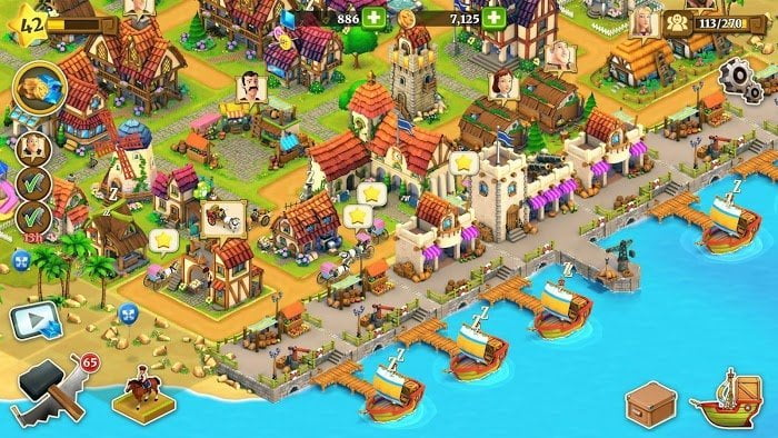 1599801004 103 Town Village Farm Build Trade Harvest City MOD Tien xuGems