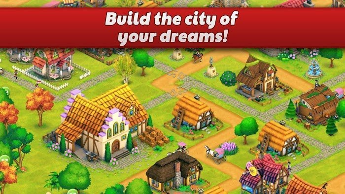 1599801004 215 Town Village Farm Build Trade Harvest City MOD Tien xuGems