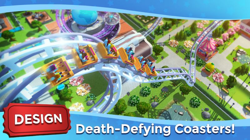 1599802204 912 RollerCoaster Tycoon Touch MOD Vo han Currency