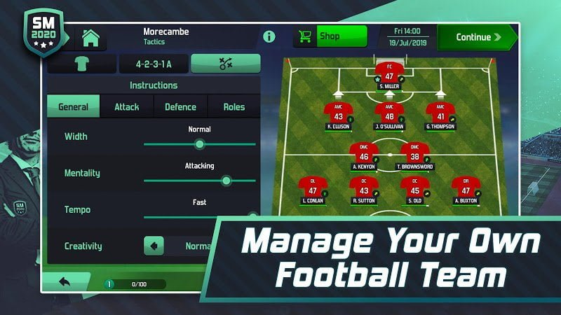 1600114203 777 Soccer Manager 2020 MOD Free Shoping