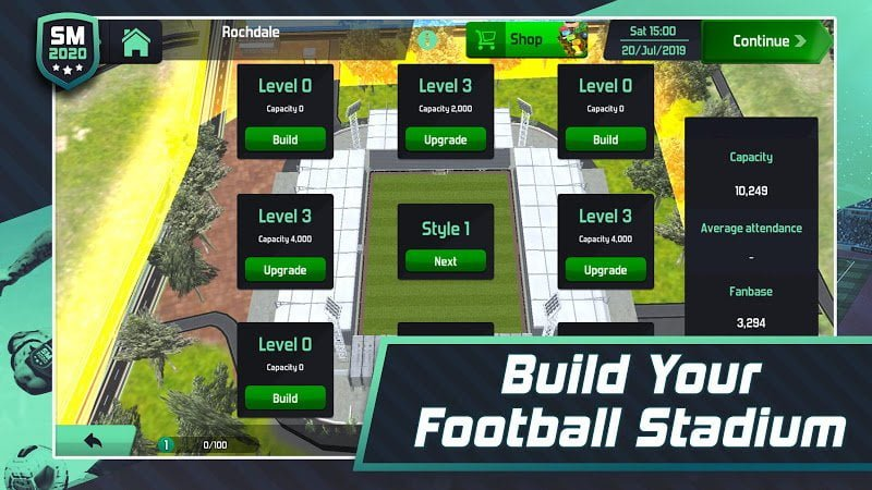 1600114204 832 Soccer Manager 2020 MOD Free Shoping