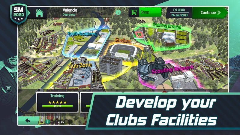 1600114204 90 Soccer Manager 2020 MOD Free Shoping