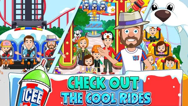 1600719604 211 My Town ICEE Amusement Park Full Paid