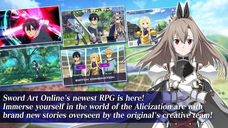 1601059803 296 Sword Art Online Alicization Rising Steel MOD God Mode