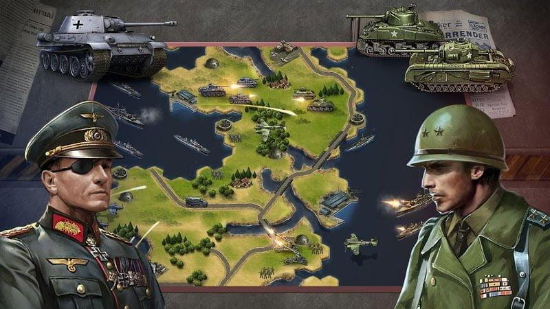 1601148303 374 WW2 Strategy Commander Conquer Frontline MOD APK IOSMedals