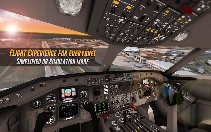 Airline Commander MOD Easy game