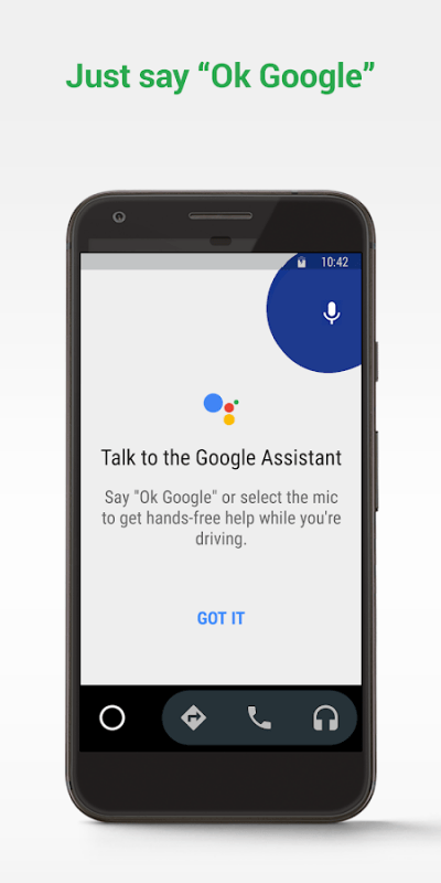 Android Auto – Google Maps Media Messaging