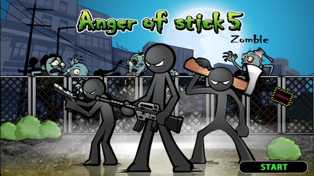 Anger of Stick 5 MOD APK IOS