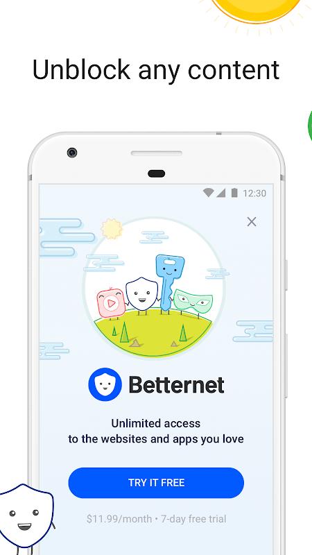 Betternet Hotspot VPN MOD Premium