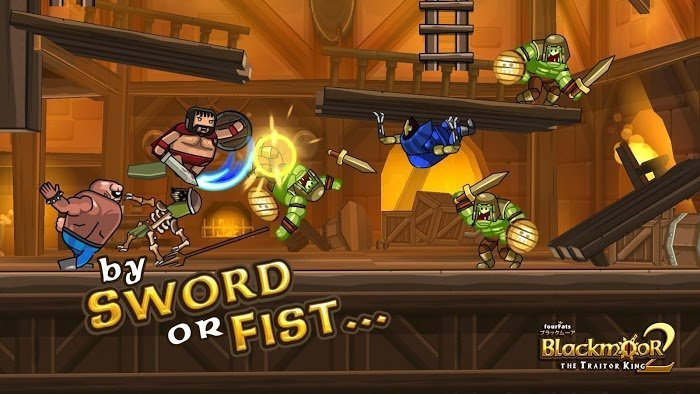 Blackmoor 2 The Traitor King MOD APK IOS
