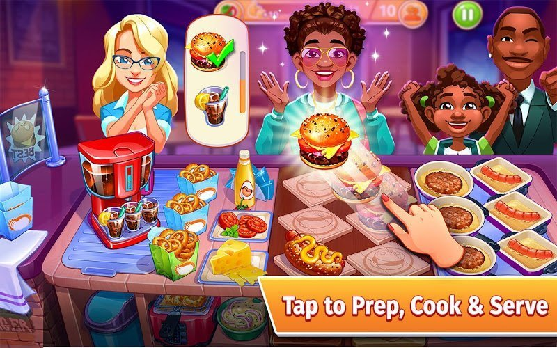 Cooking Craze MOD APK IOS